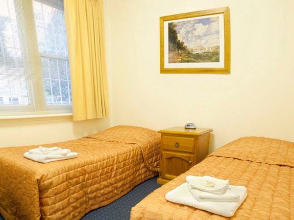 Two bed student room